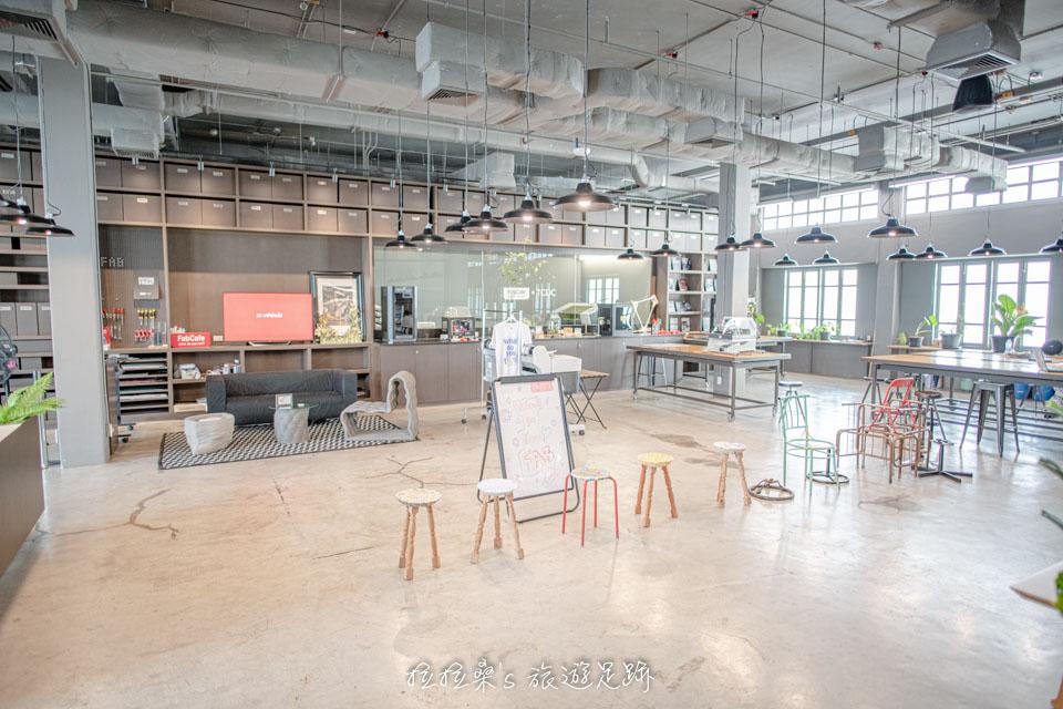 TCDC後棟3F的工作坊,有齊全的各種工具,能讓大家將創意化為實體