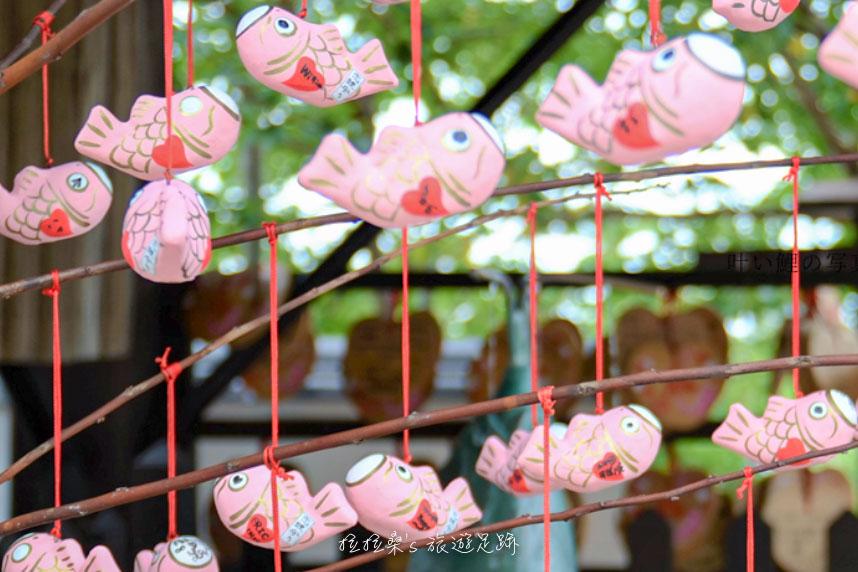 神戶北野天滿神社可愛的戀鯉御守