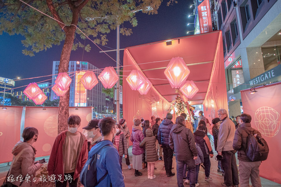2020台北燈節的時光寶河三部曲-廟宇之光