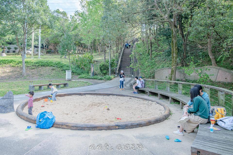 龜山長庚養生村的兒童遊戲區