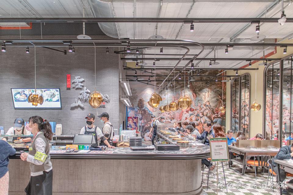 京站小碧潭口味選擇眾多的美食市集