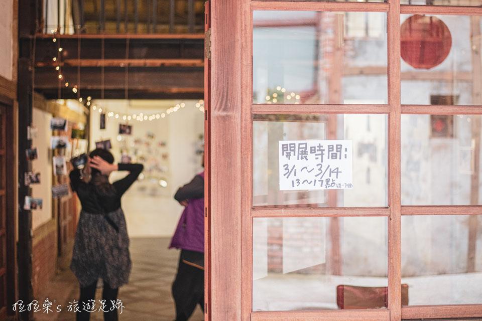 台北剝皮寮老街的老屋已成為策展空間
