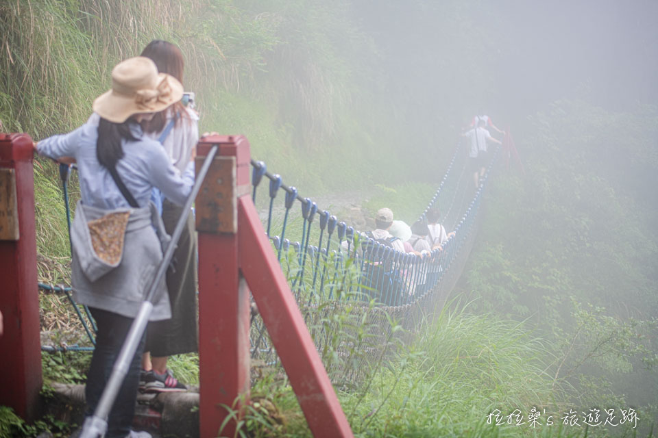 雲霧間的見晴懷古步道也別有一番風味