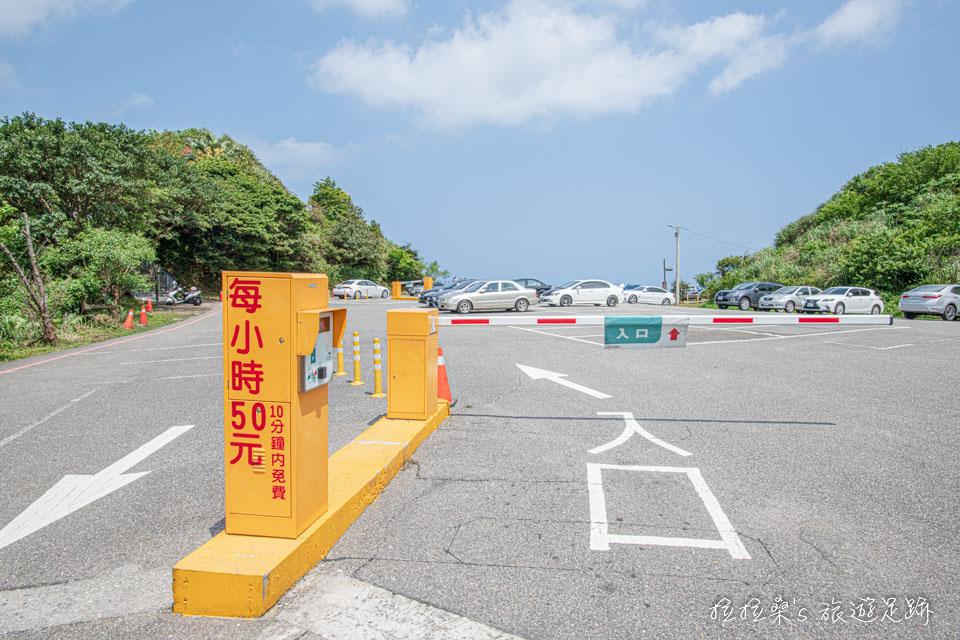 來報時山步道可以把車停在勸濟堂停車場