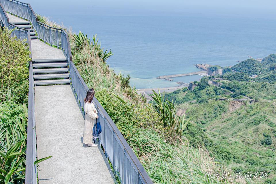 新北瑞芳報時山步道,輕鬆遠眺山海美景,盡賞山城間的迷人風光