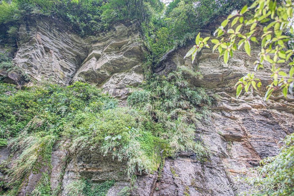 新北汐止姜子寮絕壁步道,伴著絕壁、瀑布美景的景觀步道,重新打造後輕鬆又好走