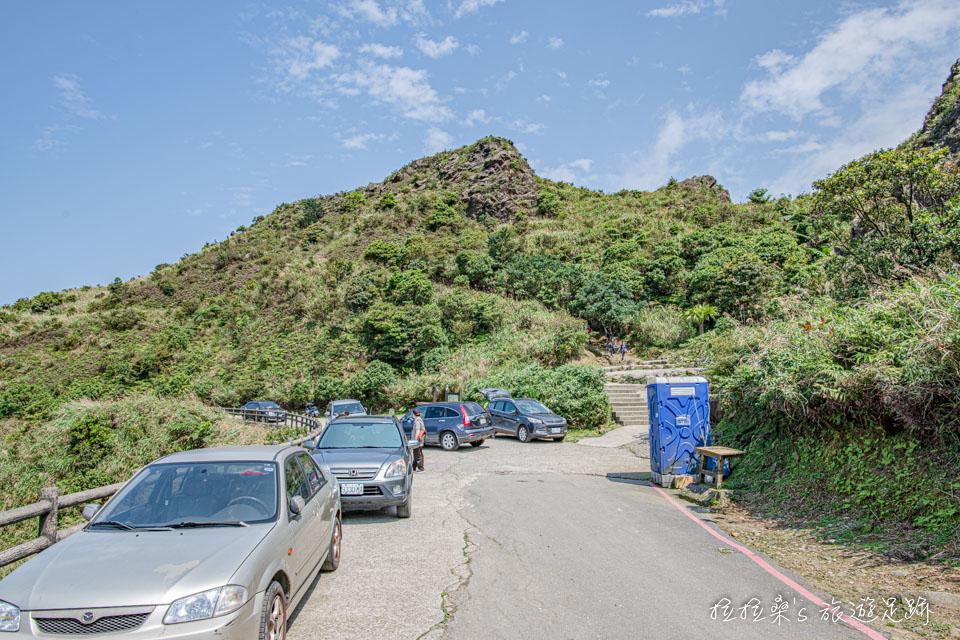 也可以直接開到茶壺山登山口前,從這裡爬只要半小時就能登頂