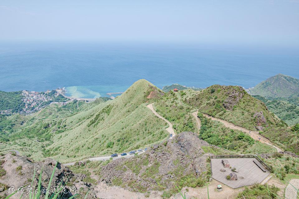 茶壺山能遠眺東北角的山海美景