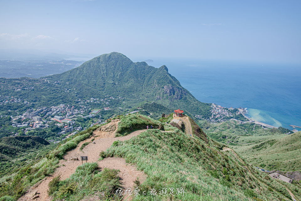 從茶壺山頂上看出去的壯麗風景