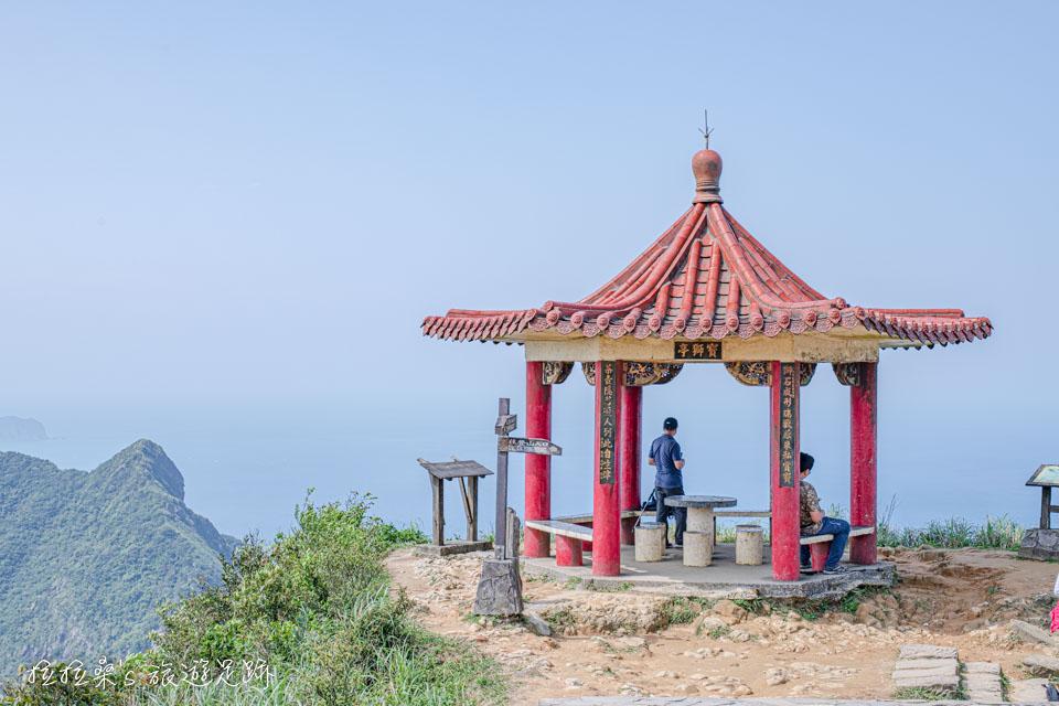 茶壺山最高的涼亭,寶獅亭