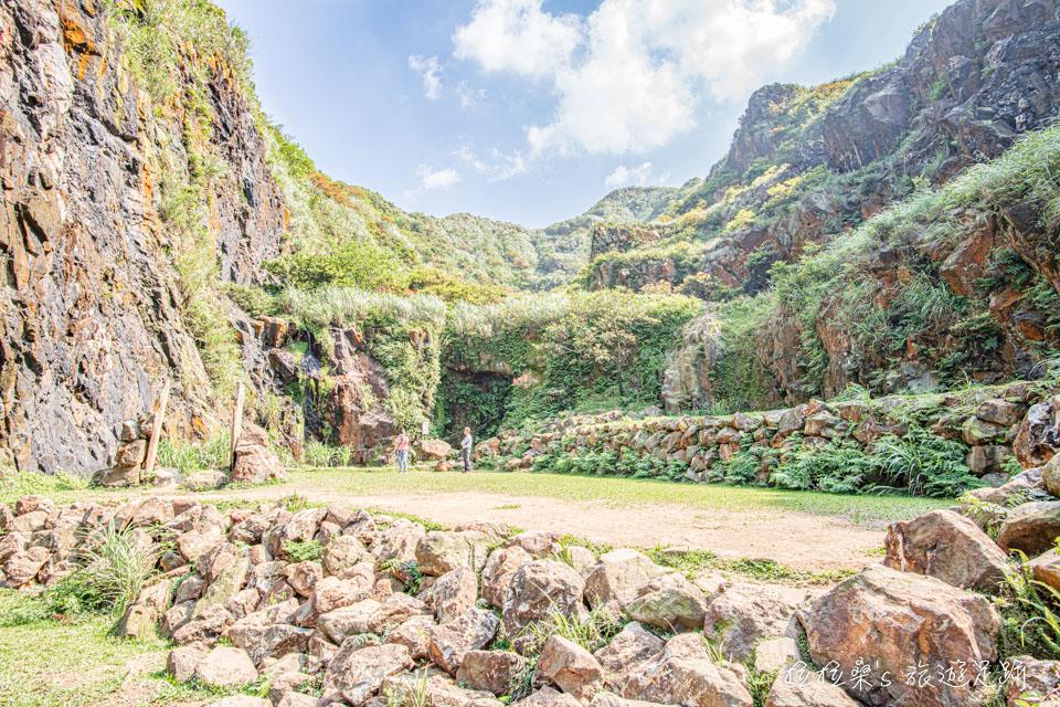 金瓜石本山礦場還有許多適合拍照的造景
