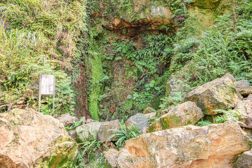 金瓜石本山礦場已經封閉的豎井