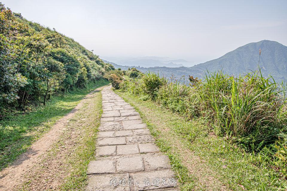 金瓜石地質公園步道的展望十分不錯