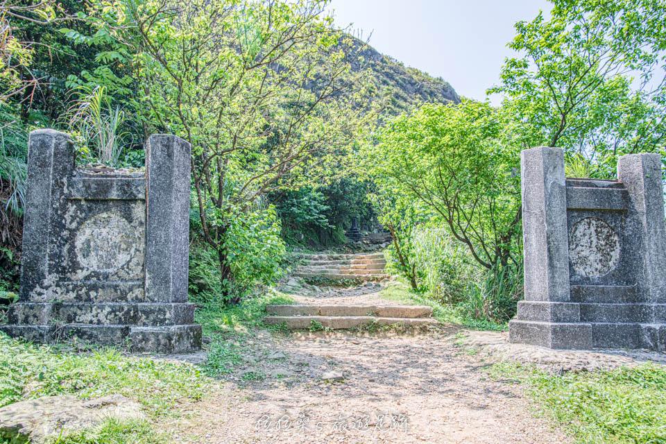金瓜石神社的入口