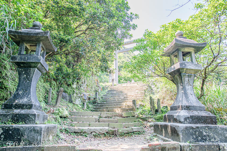 通往金瓜石神社的參道