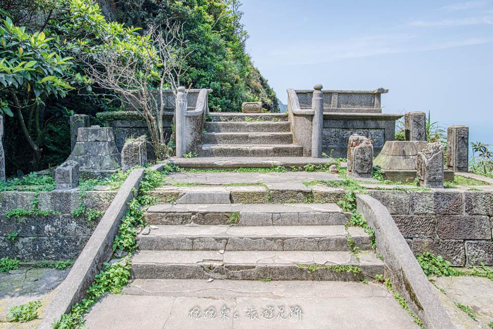金瓜石神社是很受歡迎的打卡景點