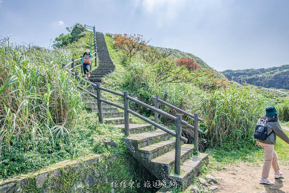 金瓜石秘境,一路延伸向大海的海景步道