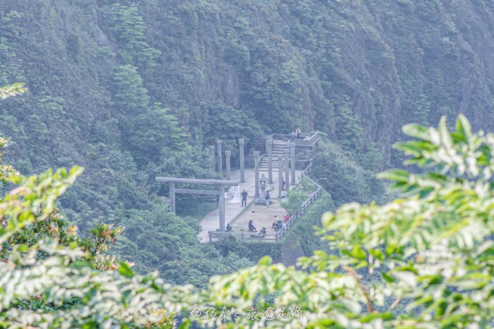 金瓜石神社也是熱門的婚紗拍攝地點