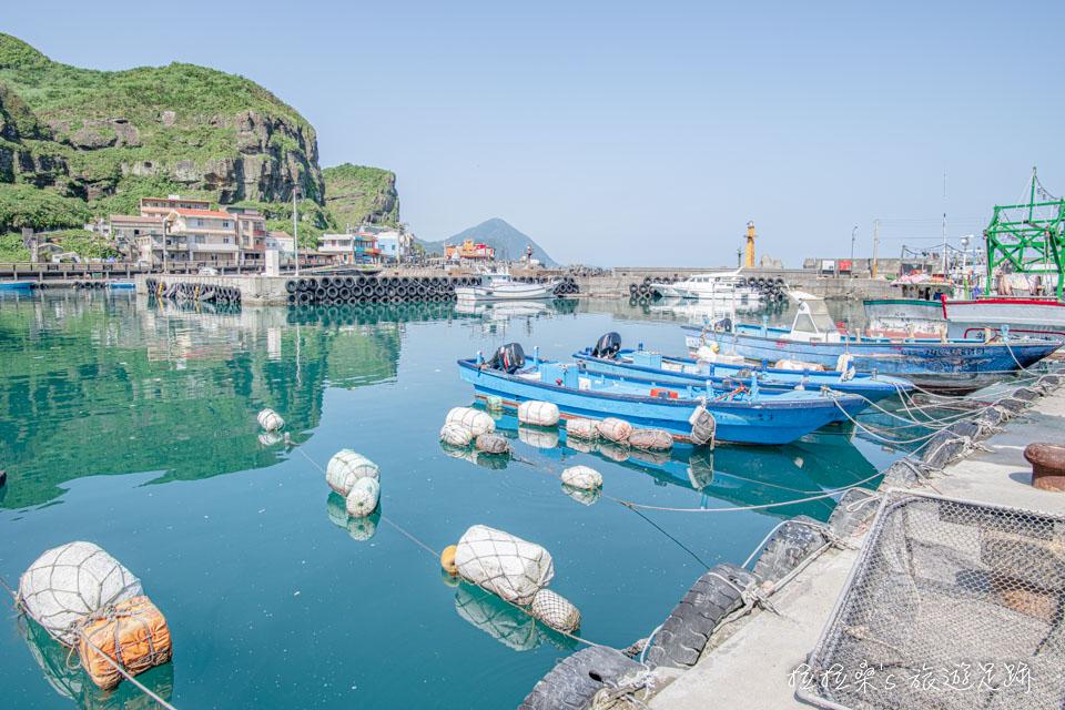 鼻頭漁港迷人的小村落