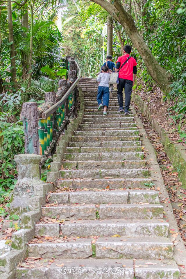 台北劍潭山親山步道輕鬆好走,大小朋友都適合