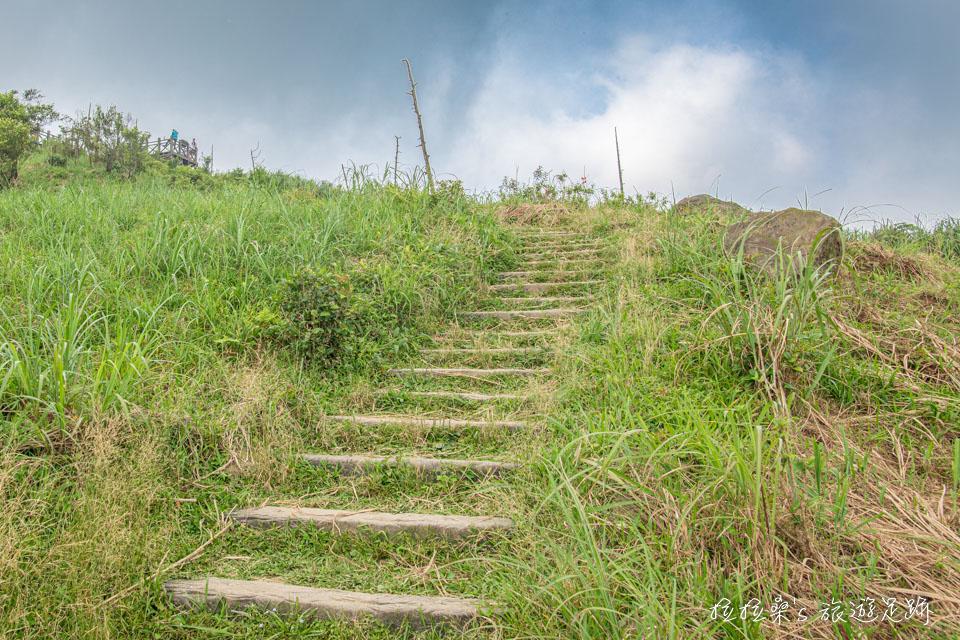 基隆姜子寮山步道最後0.2k視野逐漸開闊