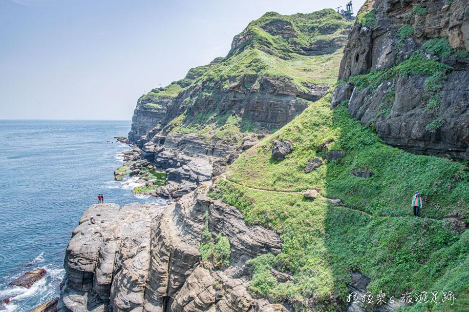 新北瑞芳鼻頭角外灘秘境,北部版阿塱壹古道,野趣、風景兼具的看海秘境