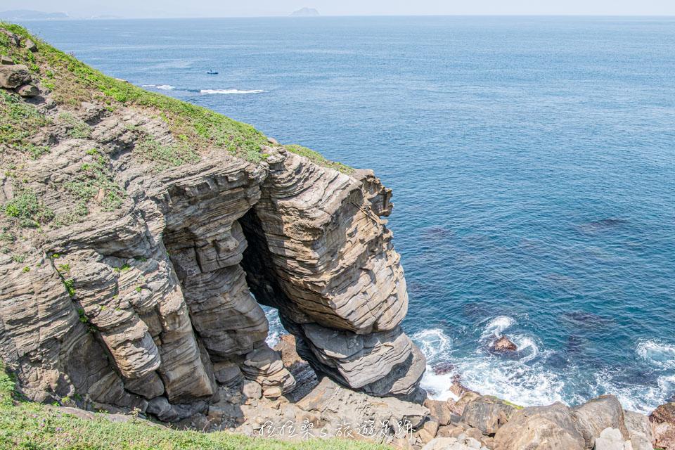 鼻頭角秘境景觀,小象鼻岩