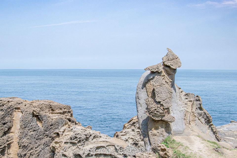 鼻頭角秘境景觀,可愛逗趣的企鵝石