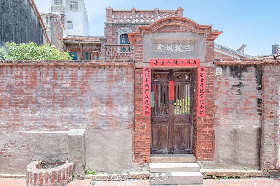 鹿港老街仍保留著清朝時的閩式建築