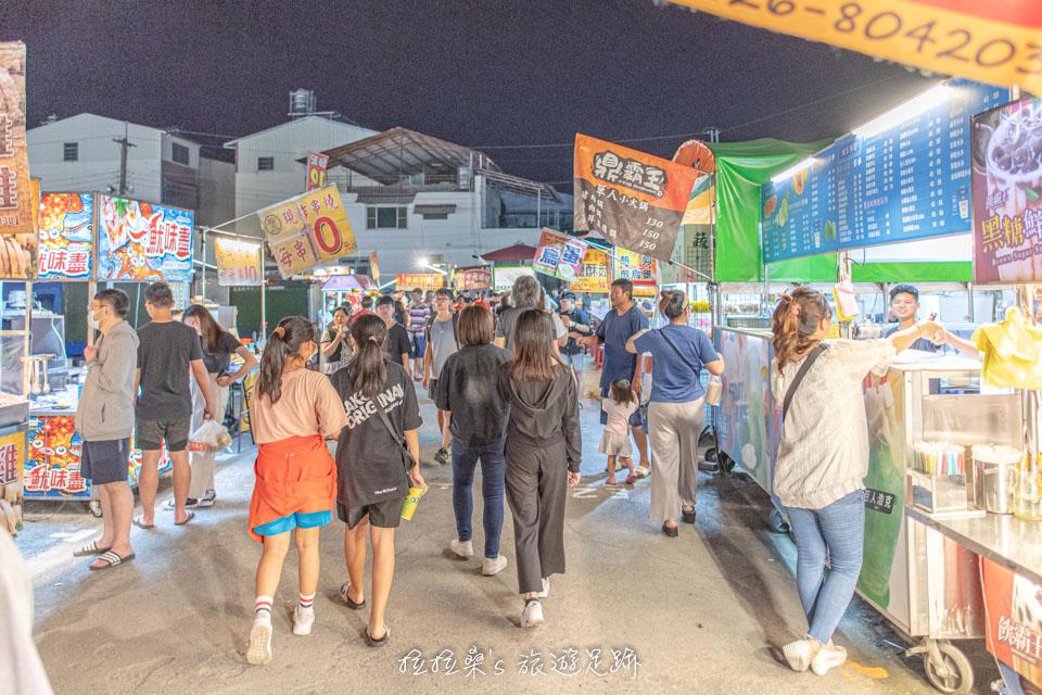 南投埔里城觀光夜市,好吃好玩的在地夜市,假日週五、六營業限定