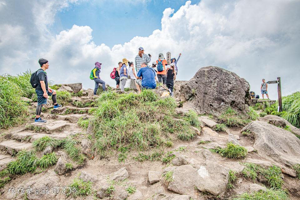 台北市最高峰,高人氣的七星山主峰