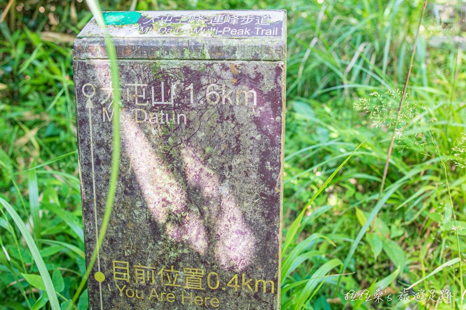 大屯山主峰登山步道長約1.6公里,難度不高