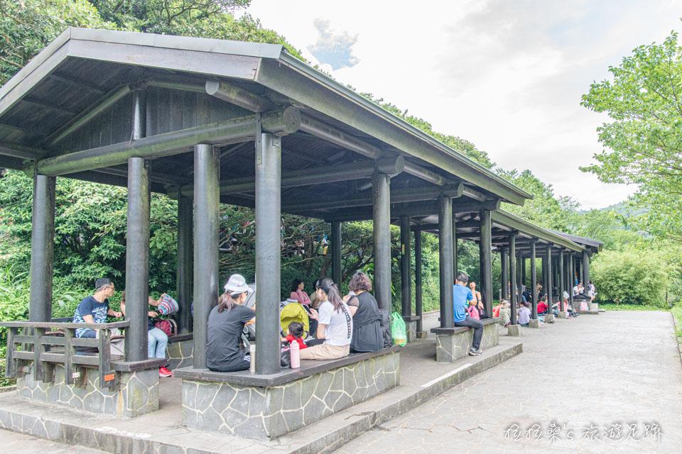 陽明山的二子坪一直是熱門的遊憩景點