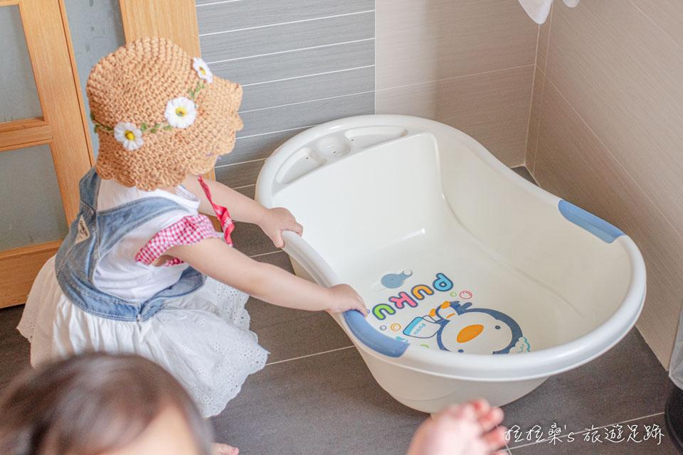 承萬渡假飯店有提供嬰兒澡盆
