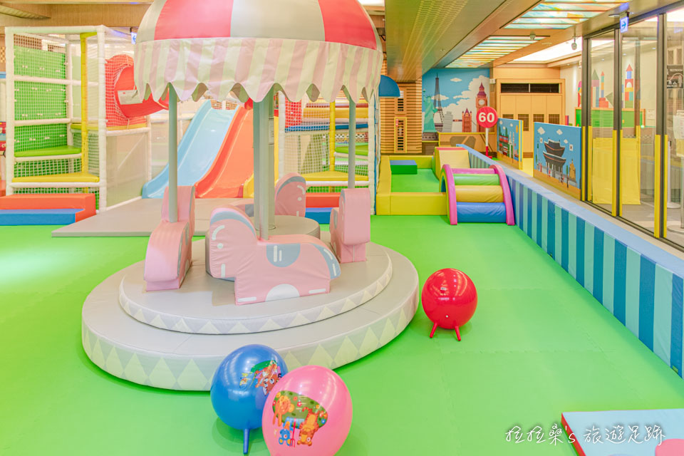 南投埔里承萬尊爵渡假飯店,超大遊戲室、SPA泳池,能讓孩子開心玩耍的親子住宿