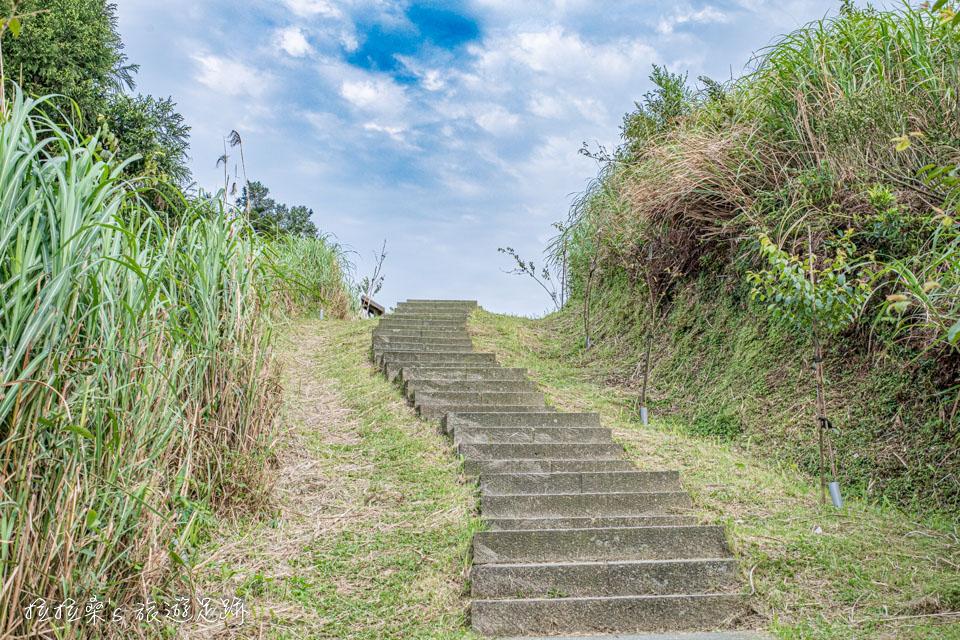 五分山上的稜線步道景色超美,就是五分山最精華、最美的一段路