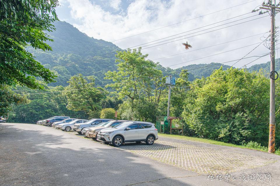 汐止大尖山步道的天秀宮登山口附近有免費停車場