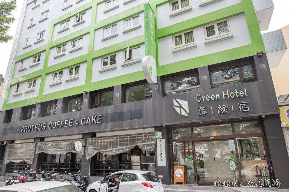 台中葉綠宿旅館距離逢甲夜市很近
